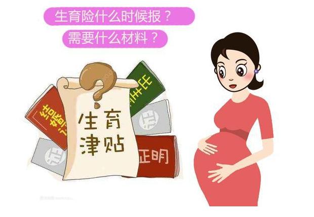 妻子怀孕两人都有社保,生育险什么时候报?需要什么材料?